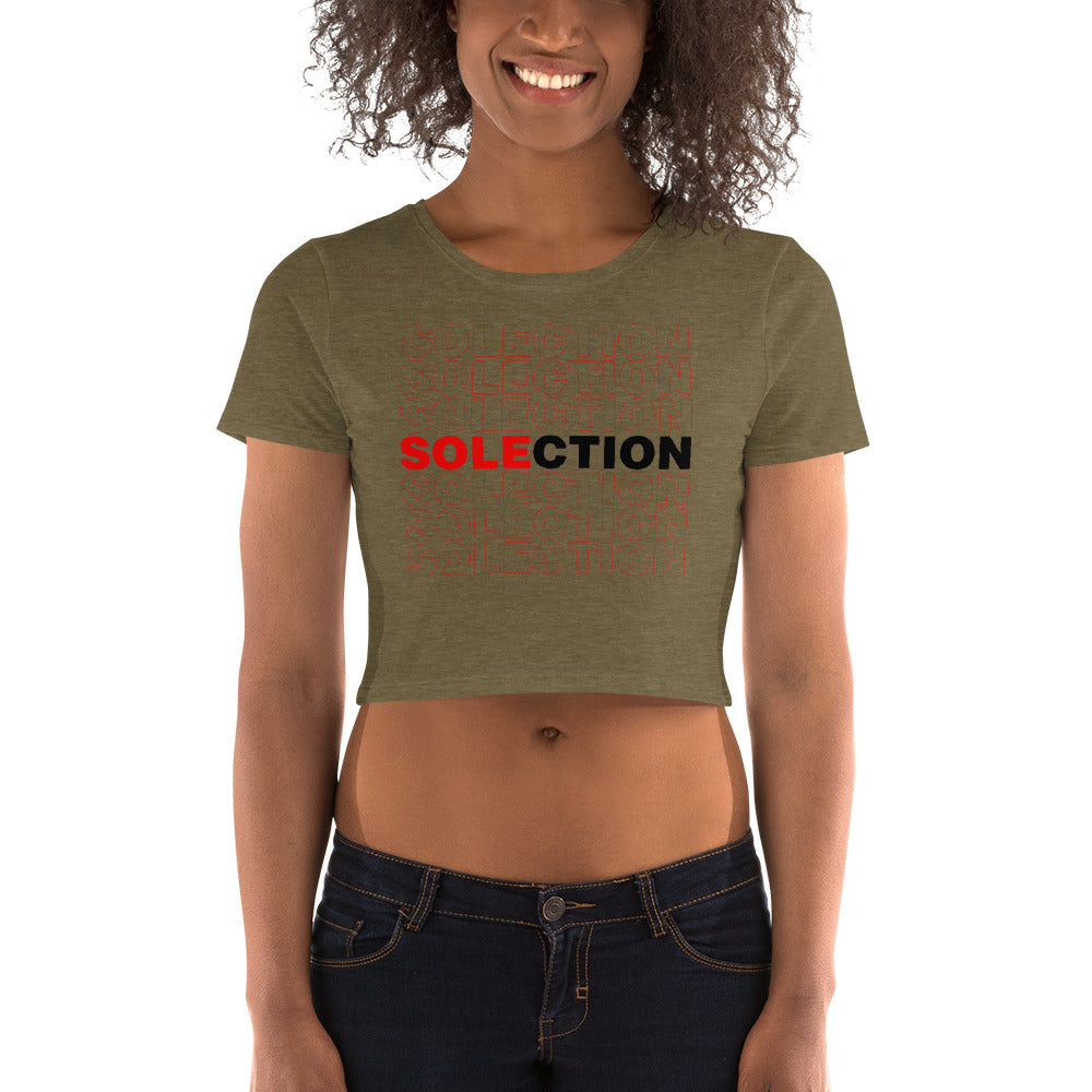 Women's SOLECTION Crop Tee