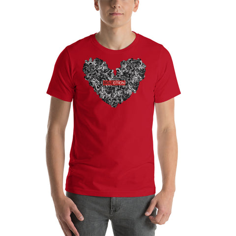 Love For Jordans Short Sleeve Jersey T-Shirt - Red Box Logo
