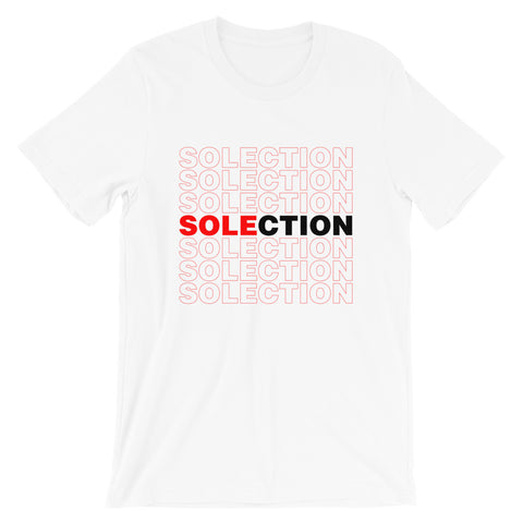 SOLECTION Repeat Short-Sleeve Unisex T-Shirt