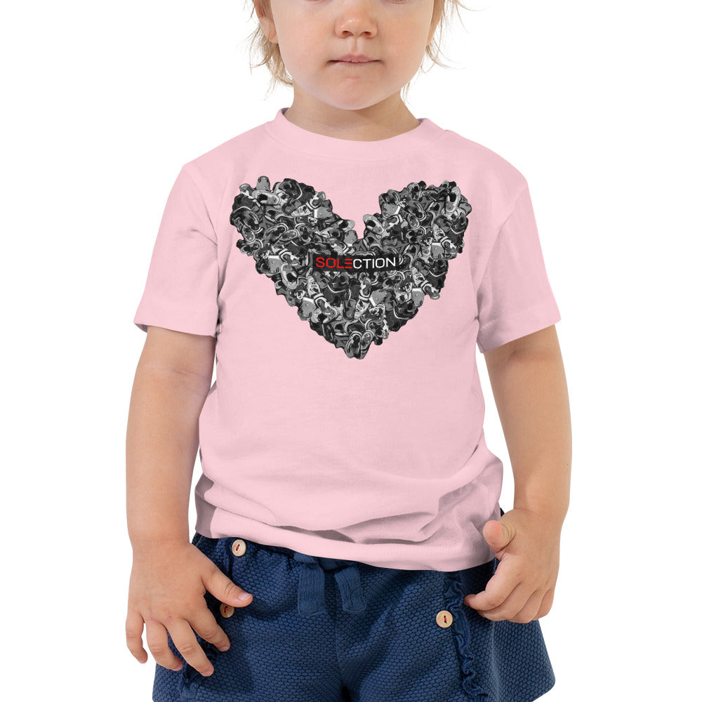 """Love For Jordans"" Toddler Short Sleeve Tee"