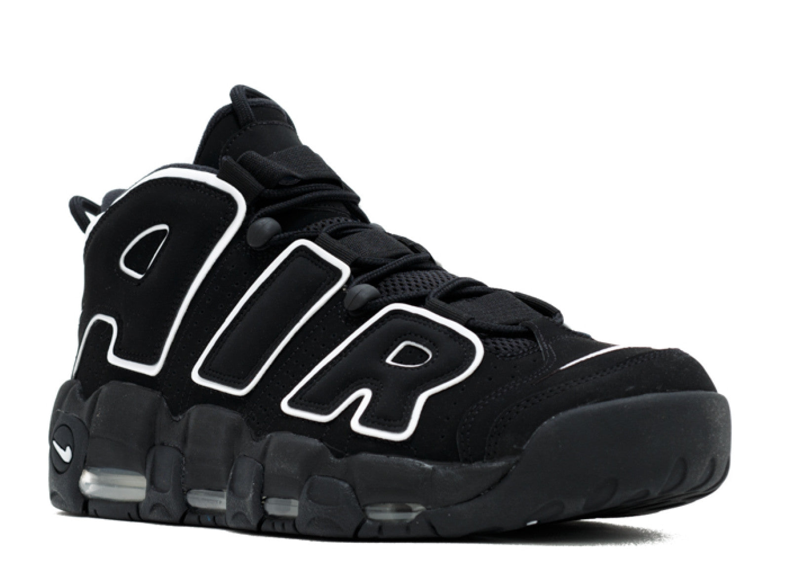 Nike Air More Uptempo Black White (2016) 414962 002