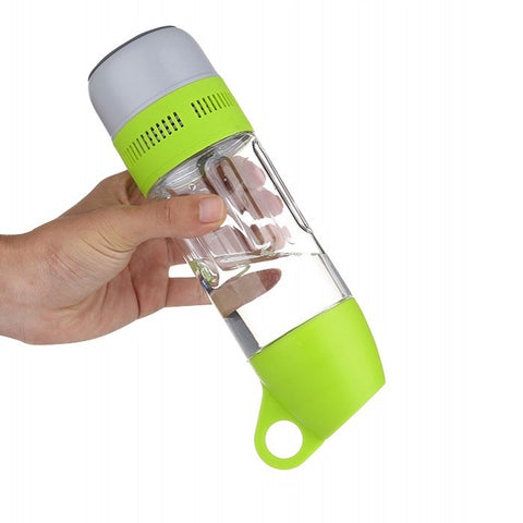 Rare Fitness Mini Bluetooth Speaker Water Bottle
