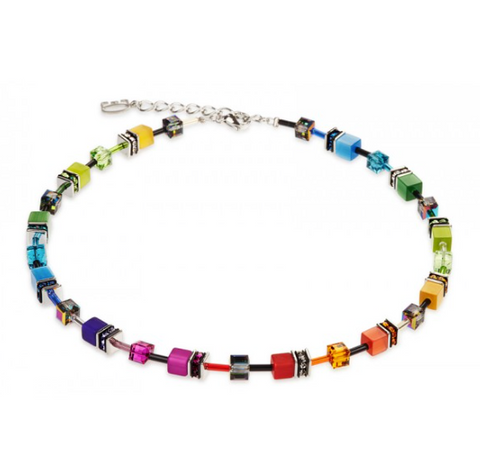 Coeur de Lion Swarovski® Multi Cube Necklace