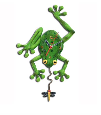 Allen Designs Studio Frog Fly Clock