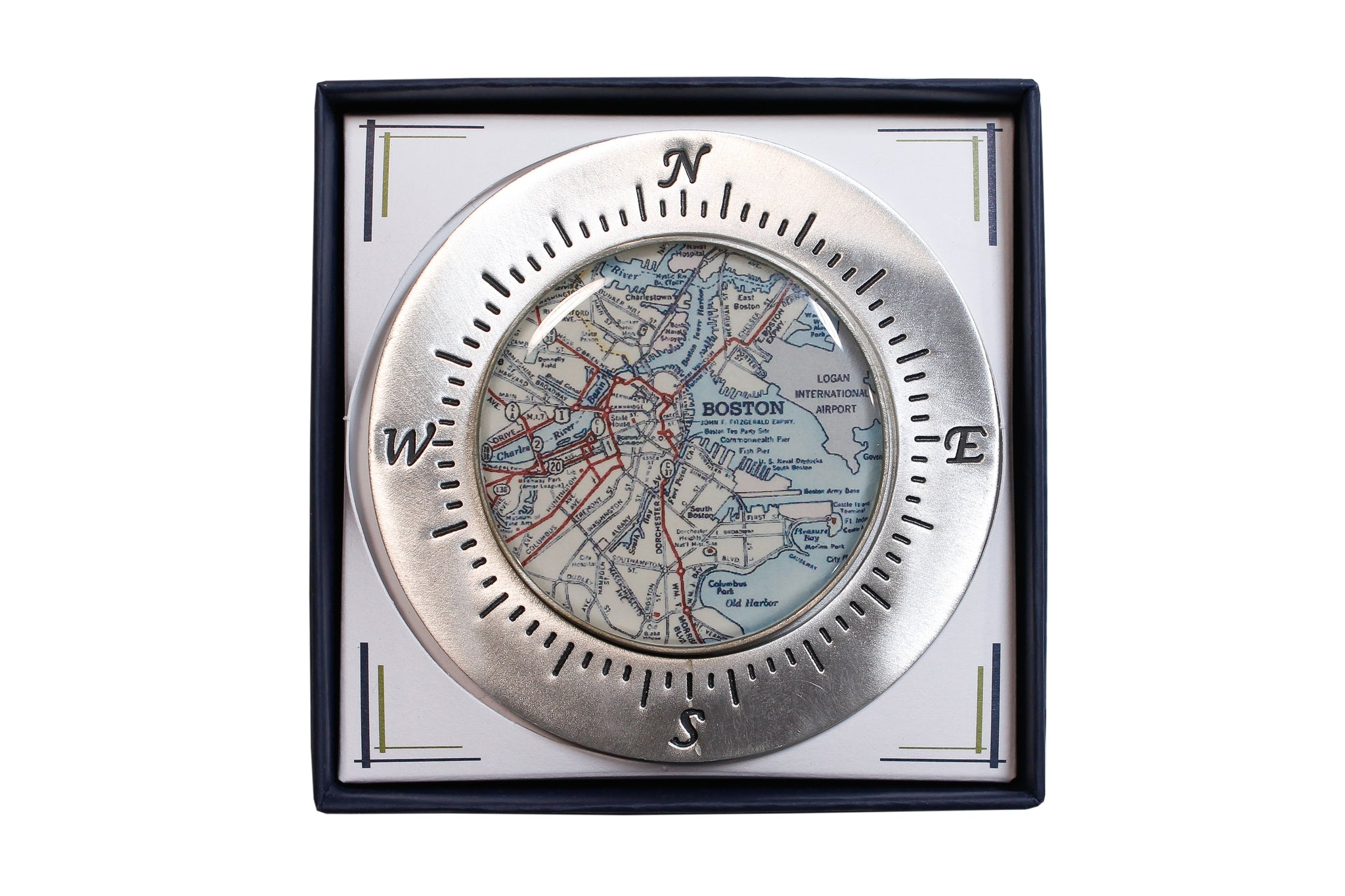 Handcrafted Paperweight by Chart Metalworks- Boston
