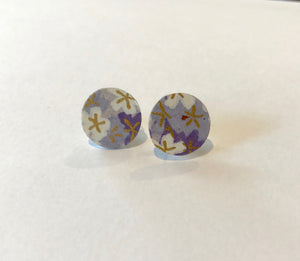 Lavender Dream Post Earrings