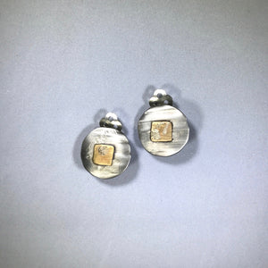 Whitney Moonlight Reflections Clip Earrings