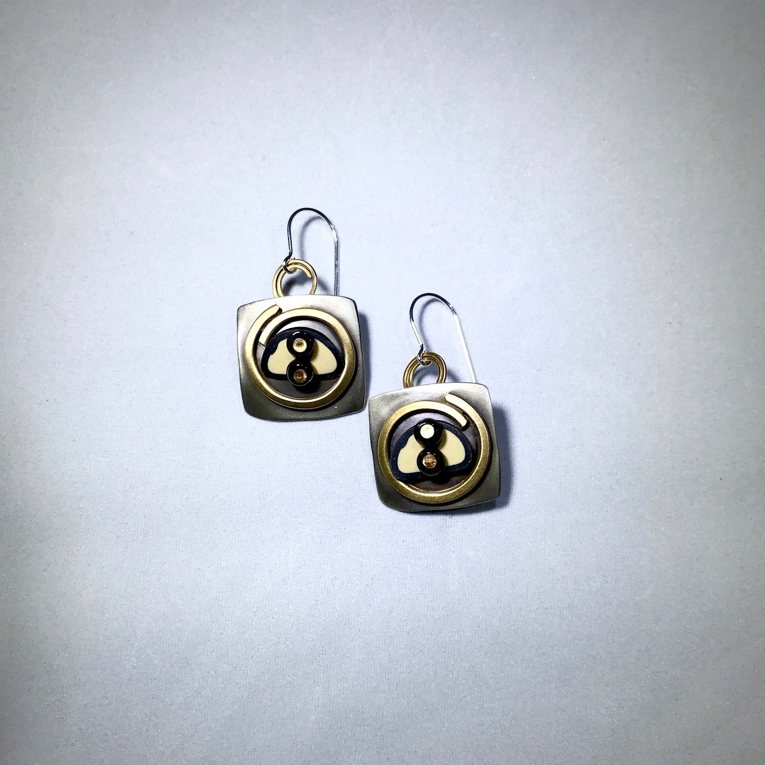 Whitney Square Tapestry Earrings