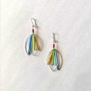 Barb Levy Wire Earrings