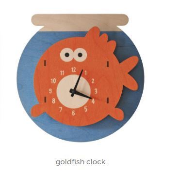 Clock - Goldfish