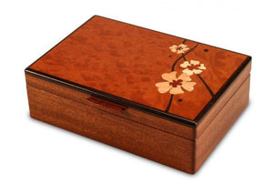Moon Flower Valet Jewelry Box