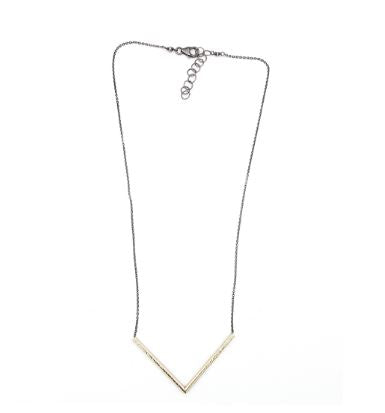 J+I Golden V Necklace