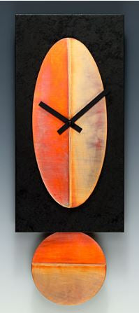 Leonie Lacouette Black and Copper Clock