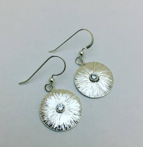 Cristina Pabon Sunflower Drop Earrings