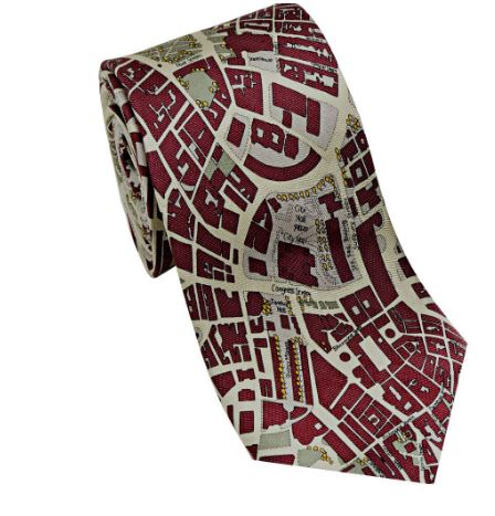Josh Bach Boston Silk Tie