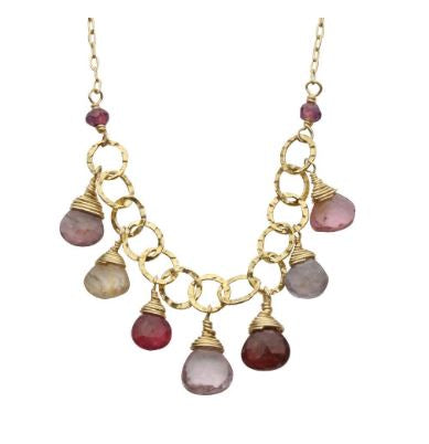 Sara Danielle Sunshine Spinel Necklace