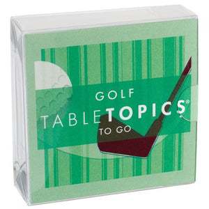 Table Topics To Go Golf