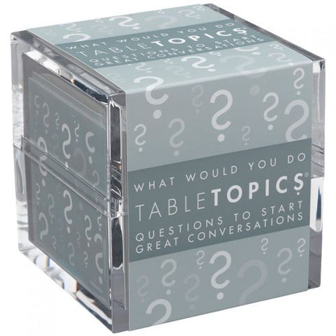 Table Topics What Would You Do?