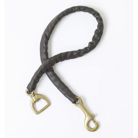 Leather Cover Stud Chain 30""