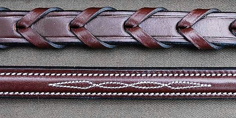 KL Italia Fancy Stitched Laced Reins