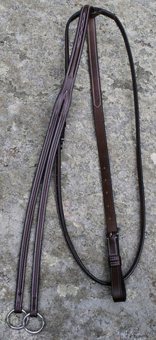 Red Barn Fancy Running Martingale Round Raised