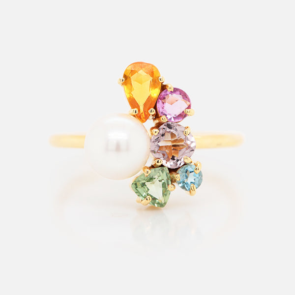 Anillo 'Galaxy' Candy Pearl