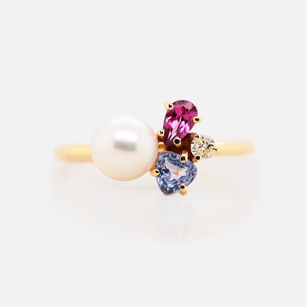 Anillo 'Galaxy' Light Pearl