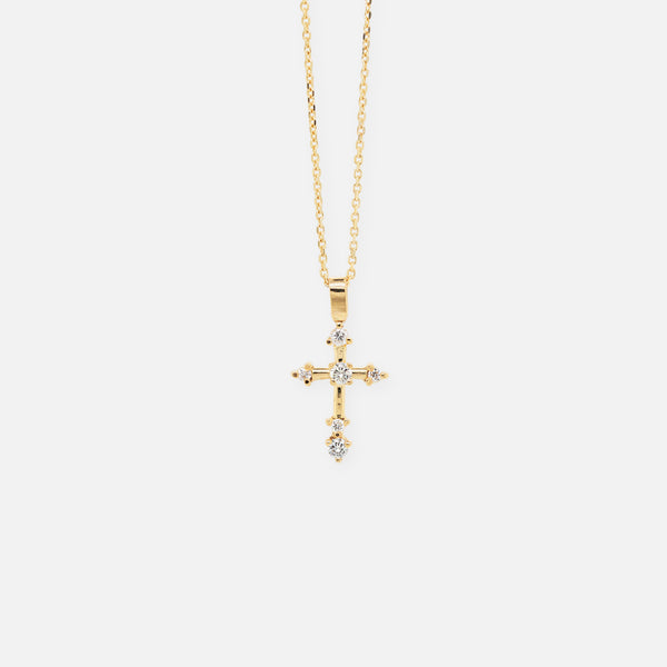 Collar 'Diamond Cross'