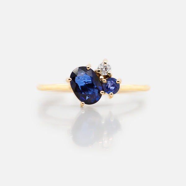 Anillo 'Galaxy' Blue