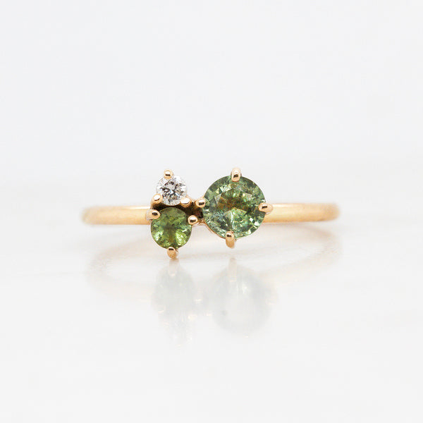 Anillo 'Galaxy' Green