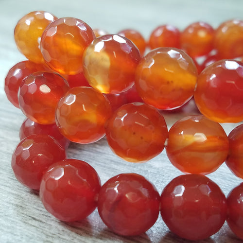 Vibrant Carnelian Bracelet for Life Force Boost
