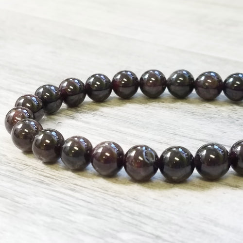 Garnet bracelet- a gift of Passion and Energy
