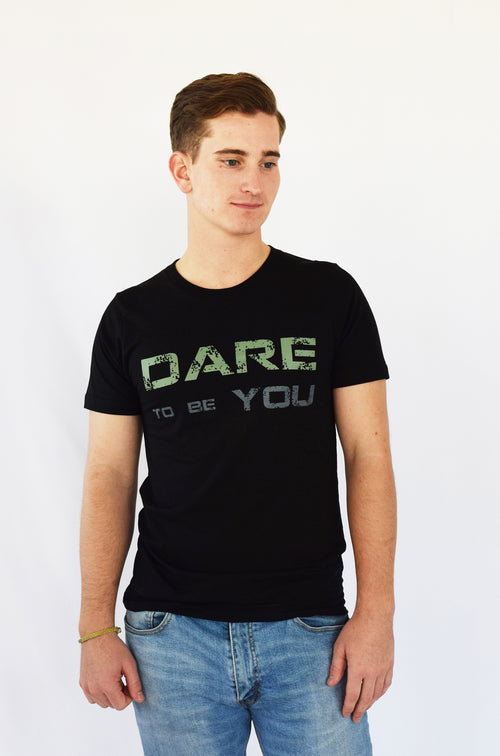 """Dare to be You"" Comfy Organic Cotton & Hemp Tee"