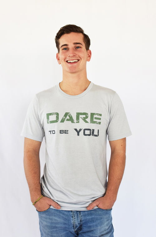 """Dare to be You"" Soft Bamboo & Organic Cotton Tee"