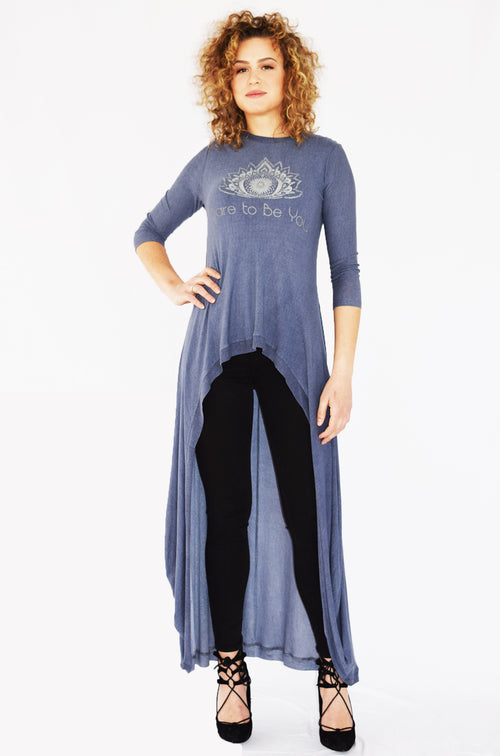 """Dare to be You"" Maxi Tunic"