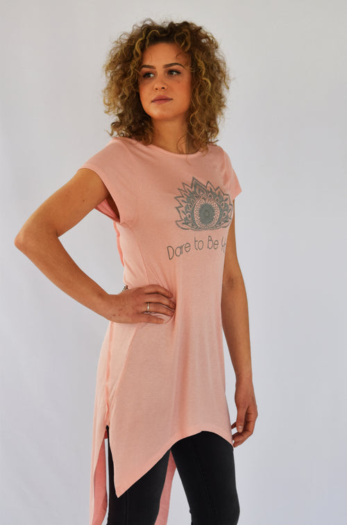 "Pearl Pink ""Dare to be You"" tunic"