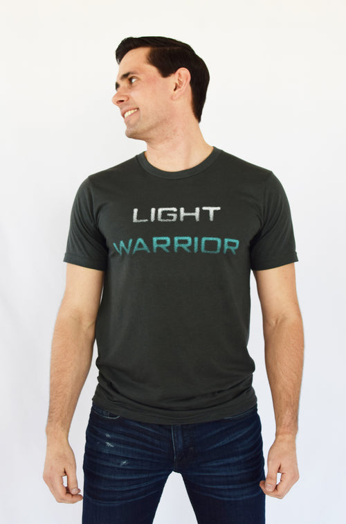 """Light Warrior"" Soft Organic Tee"