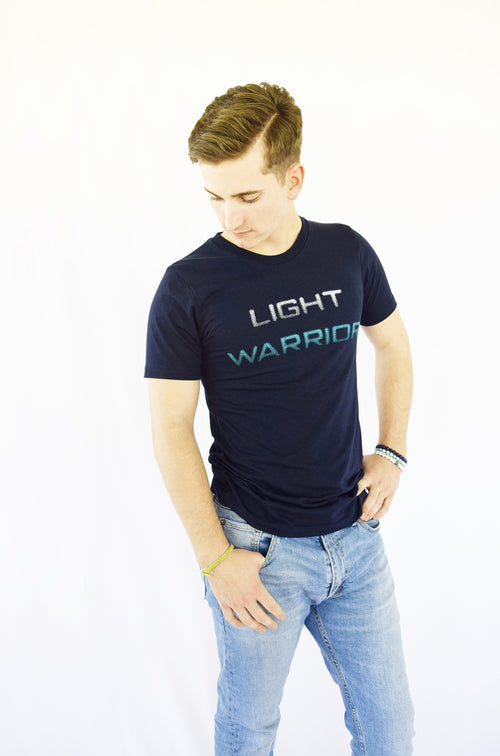 """Light Warrior"" Gentle Organic Cotton & Hemp Tee"