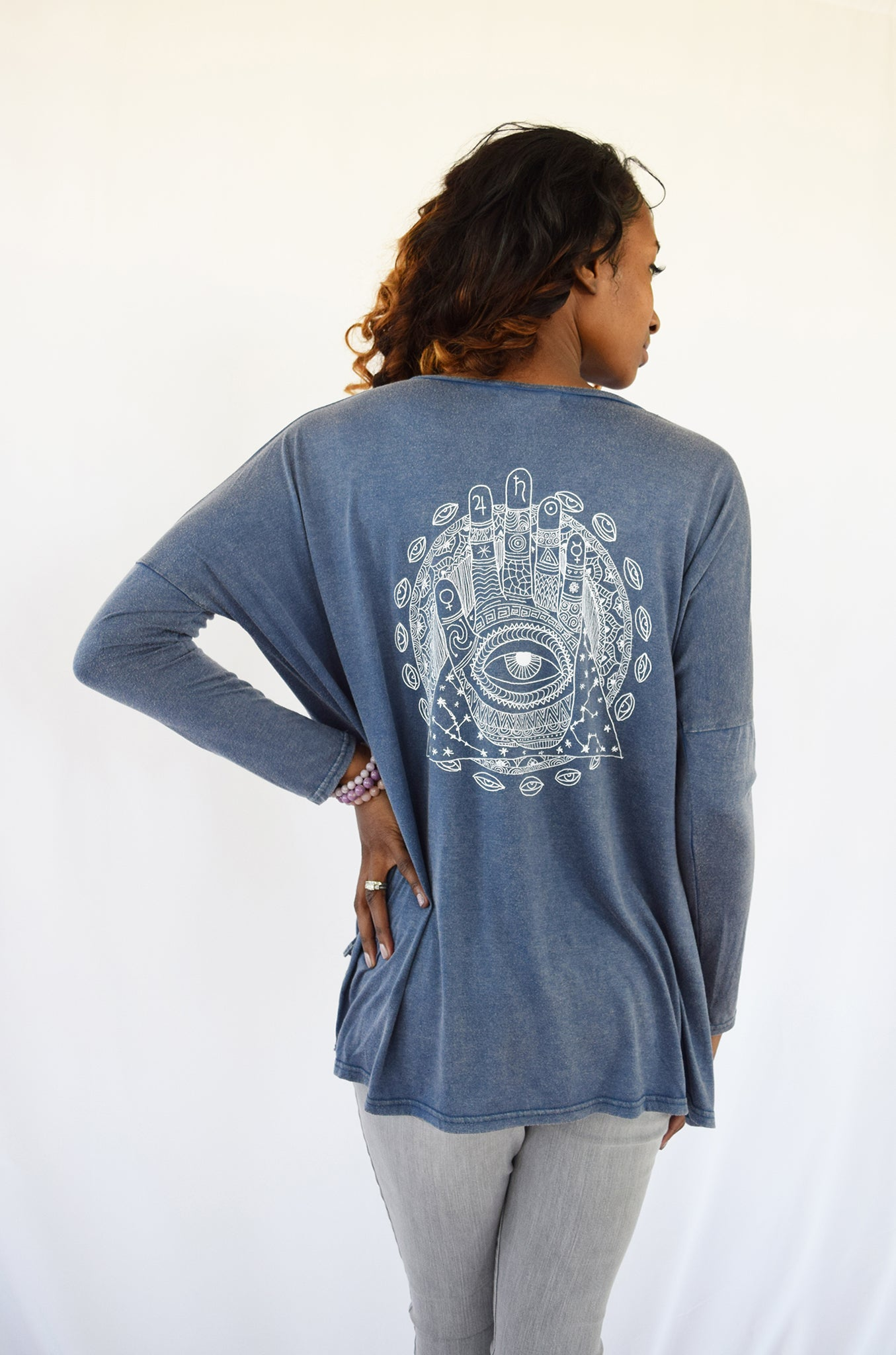 "Magical ""Awareness Mandala"" Top"