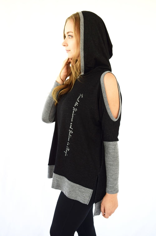 """Trust the Universe"" Sexy Hoodie"
