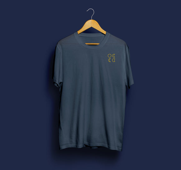 Darkblue T-Shirt (Tour with Backprint)