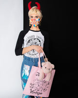 Three Pigs Vintage Tote Bag