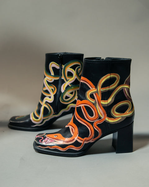Twisted Snake Boots