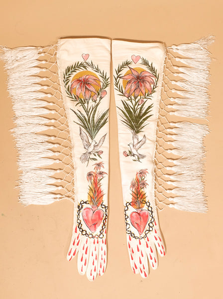 Tassel Opera Gloves
