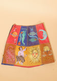 Zodiac Patchwork Skirt