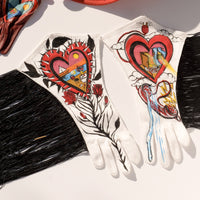 Stood Up Fringe Rodeo Gloves