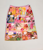 Quarantine Comic Book Skirt