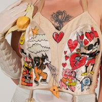 Morning Cartoons Bustier
