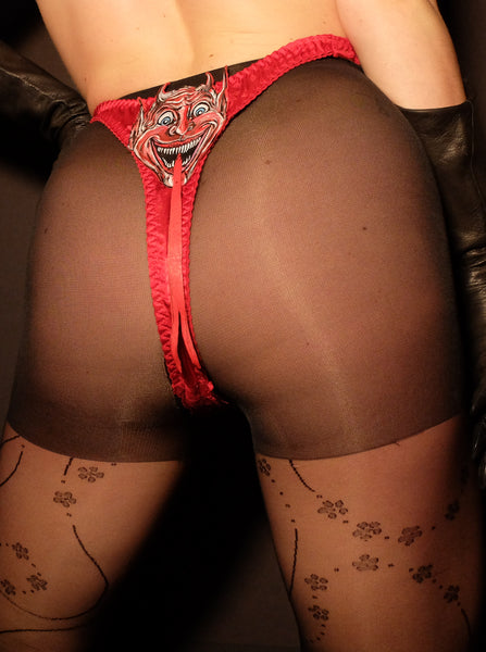 Krampus Tongue Thong