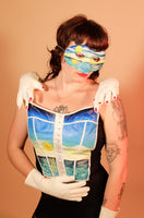 From Dawn To Dusk Bustier & Mask Set